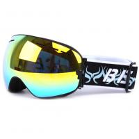 Wholesale Otg Design Uv Protection Mirrored Snow Goggles With Spherical Detachable Lens from china suppliers