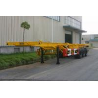 China 30ft Gooseneck Container Trailer Chassis wholesale