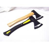 durable black edged high carbon steel axe for carving chopping of