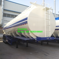 Wholesale Q235 50000L 3 Axles Oil Tank Trailer With Two Pipes from china suppliers