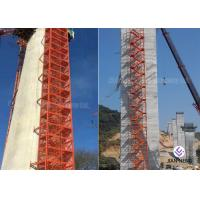Safe Construction Stair Tower Any Color For Highways Railways Bridges