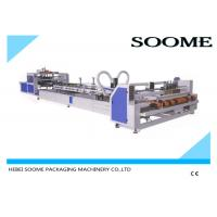 Buy cheap Automatic flexo folder gluer machine for corrugated carton box 2600 mm/2800 mm from wholesalers