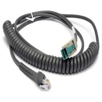 Wholesale CBA-U14-C09ZAR Coiled 12V powered USB to RJ45 10P10C Cable for Motorola Symbol Scanner from china suppliers