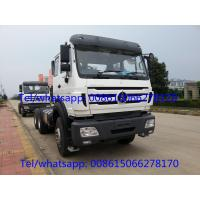 Buy cheap Beiben 380hp tractor truck 2638 military quality prime mover truck head from wholesalers