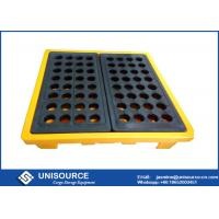 Rotomolding Four Drum Stackable Plastic Pallet Shipping Pallets With Heavy Load