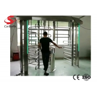 Wholesale TCP IP 40persons/min RS485 Full Height Barrier Gate from china suppliers