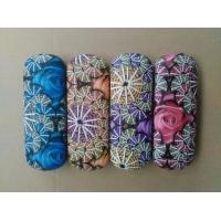 China Hot selling printed glasses cases-flower design printed wholesale