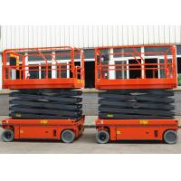 Wholesale Flexible Simple Self Propelled Elevating Work Platforms Stable Performance from china suppliers