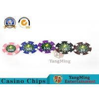 Wholesale Professional Casino 760 Custom Deluxe Poker Chip Set With Aluminum Alloy Case from china suppliers