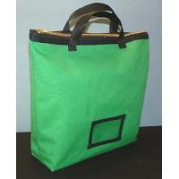 Wholesale Eco - friendly Transport Locking Bank bag with Zipper closure Green OEM / ODM from china suppliers