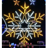 Wholesale led big snowflake light from china suppliers