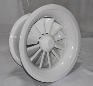 Round swirl diffuser