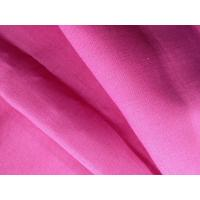 Wholesale 100% Natural Pink Organic Linen Fabric Washable Woven Fabric GOTS Certified 13.5NM * 13.5NM from china suppliers