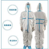 Buy cheap Dispoable waterproof dustproof Protective Clothing made of PP and PE Laminating from wholesalers