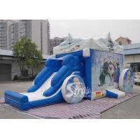 Wholesale Outdoor frozen carriage inflatable bouncy castles with slide for children from china suppliers