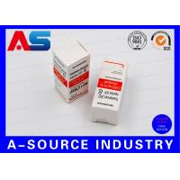 Buy cheap Biolab Security Carton Bottle Box 10ml Vial Boxes Embossed Spot UV Printing from wholesalers