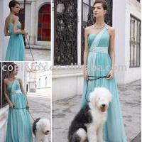 Wholesale simple light green bridesmaid dresses, elegant belted bridesmaid ceremony dresses from china suppliers