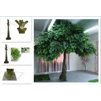 UVG 20 Foot Tall Synthetic Trees Artificial Ornamental With Banyan