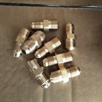 Buy cheap Processing custom all kinds of pipe fitting,Adapte,CNC machining, brass fitting from wholesalers