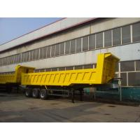 Wholesale Sinotruk Howo 40-60t Semi Dump Trailer With Side Guard And Electrical Opening Top Cover from china suppliers