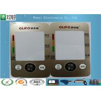 Wholesale Custom Control Panel Overlay FPC Membrane Switch Touch Sense Panel Metallic Color from china suppliers