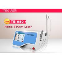 China Immediate Result Diode Laser 980nm Vascular Varicose Veins Removal Machine wholesale