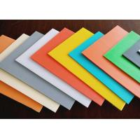 Wholesale High Density Rigid Durable Fluted Plastic Sheet With Customized Size And Color from china suppliers