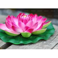 artificial lotus flower branches for home decoration