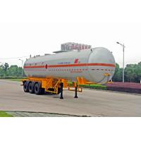 Quality Gas Tanker Truck Capacity 58300L / Semi Trailer for sale