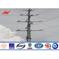 Buy cheap 35FT NEA Standard Steel Power Pole For 69kv Electrical Transmission Line from wholesalers
