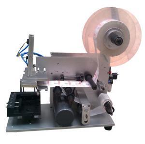 Wholesale semi-auto labeling machine of flat bottle LM-60,semi automatic bottle labeling machine from china suppliers