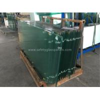 China Impact Ocean Blue Laminated Safety Glass Insulated Glass Panel 5mm 6mm 8mm wholesale