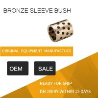 Wholesale Highest Strength Standard Size C95400 Aluminum Bronze Graphite Plugged Bronze Sleeve Bushing from china suppliers