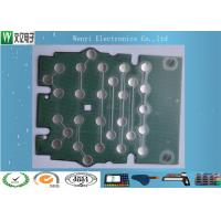Wholesale Metal Dome PET Flex Circuit Polyimide Circuit Board 10mm 5 Dimple For Bank Use from china suppliers