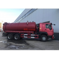 Wholesale 95km/h 10M3 16M3 Sewage Suction Truck 4x2 Euro 2 LHD from china suppliers