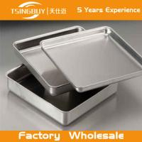 Wholesale High quality non-stick bread baking sheet-stainless steel kitchen sink with tray-Perforated Corrugated Baking Trays from china suppliers