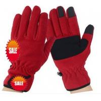 Wholesale winter warm fleece gloves from china suppliers