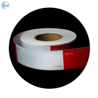 """Wholesale High Intensity DOT Reflective Tape , Red And White Reflective Tape For Trucks Trailers 6"""" from china suppliers"""