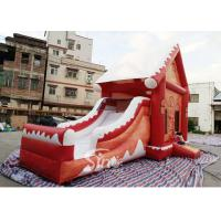 Wholesale Commercial grade inflatable Christmas jumping castle with slide for kids and adults from china suppliers