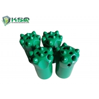 Wholesale Quarry Hard Rock Drilling Tools Tapered Button Drill Bit 7 Buttons OD 34mm 36mm 38mm from china suppliers