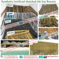 Wholesale new building material Synthetic resin tiles  artificial Synthetic Thatch Roofing for Cottage from china suppliers