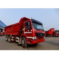 Wholesale HOWO 6x4 Tipper Truck  With 371 HP Engine And 19cbm Rear Hydraulic Box from china suppliers