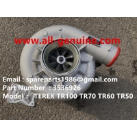 Wholesale 3536926 TURBO CHARGER CUMMINS ENGINE TEREX UNIT RIG BUCYRUS MT4400AC MT5500 MT3600 NTE240 NTE260 NHL DUMP TRUCK HAULER from china suppliers