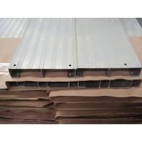 Portable Durable High Ribbed Aluminum Walk Boards / Scaffold Plank For Engineering Construction