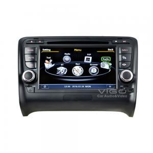 China Audi TT In Car Stereo Sat Audi Sat Nav DVD Auto Radio GPS Navigation C078 on sale