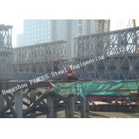 Wholesale HD200 Double Row Deck Type Modular Steel Bailey Bridge Hoisting Installation in Site from china suppliers