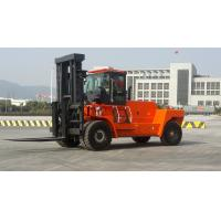 Quality Wear Resisting Diesel Forklift Truck , Automatic 2 Stage / 3 Satge Mast Forklift for sale