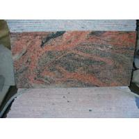 Multi Color Red China Nutral Stone  Granite 12X12 Paving facing the cap tiles slabs