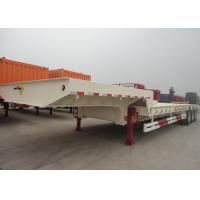 Wholesale Heavy Duty 150 Ton Low Bed Semi Trailer With Tridem Pendel Axles from china suppliers