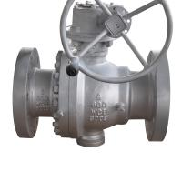 Wholesale Soft Seal Gear Flanged Operated Ball Valve 2 Inch CF8M Material JIS10K from china suppliers